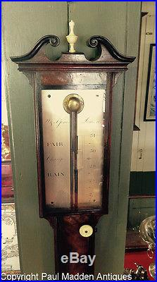 Antique English Stick Barometer W. & S. Jones, London