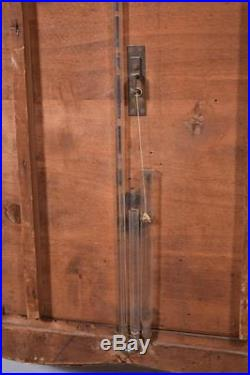 Antique French Barometer Thermometer Weather Station