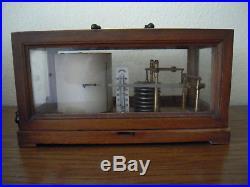 Antique French Jules Richard -Paris Barograph Barometer