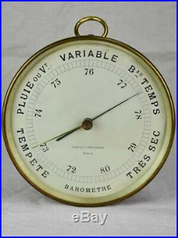 Antique French barometer 8¼