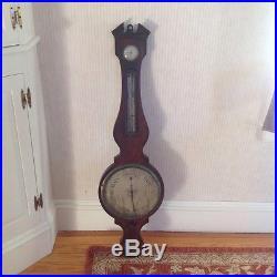 Antique Georgian barometer