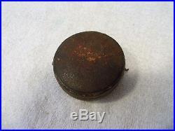 Antique Gilt Brass Pocket Aneroid Barometer & Altimeter, Circa 1910