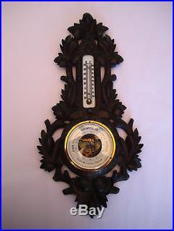 Antique Hahn, Lochel & Danzig German Black Forest Barometer