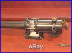 Antique Henry J. Green Stick Barometer in Wood Case