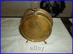 Antique Holosterique Barometre Paris France Brass Beautiful Condition