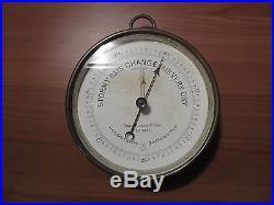 Antique John Bliss PHNB (Pertius-Hulot-Naudet-Barometers) Wall Barometer France
