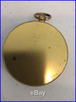 Antique Keuffel Esser Barometer With Case