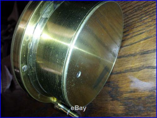 Antique Keuffel Mining Aneroid Brass Circa 1920's