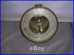 Antique Late 1800s PHBN Barometer Thermometer Semmons Optician New York