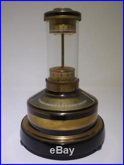 Antique Lufft German Weather Pillar Circa 1920/1930