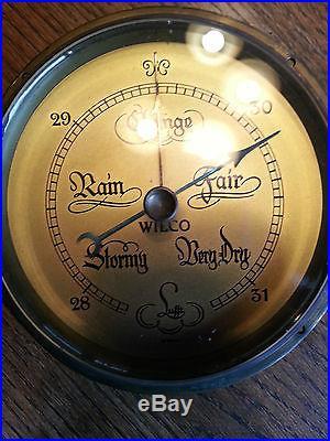 Antique Lufft Wilco Barometer Salvaged part Estate Sale Find -Steam punk