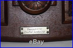 Antique Mahogany BaroCyclonometer by Heath & Co. London Fr. José María Algué
