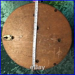 Antique Nautical Marine Barometer With Porcelan Face Made In England