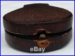 Antique POCKET BAROMETER ALTIMETER 1865 DOLLOND London CASE Original, IT WORKS