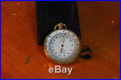 Antique Pocket Barometer Altimeter By Tycos Smort Mason Made In Great Britain