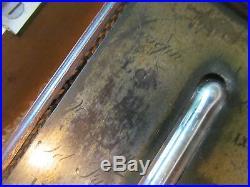 Antique Rare Mahogany Stick Barometer Joseph Somalvico London with wood box