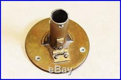 Antique Ships Stick Barometer Lisbon C1900 R. N Desterro Brass Ships Barometer