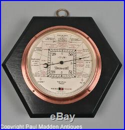 Antique Short & Mason Stormoguide Barometer