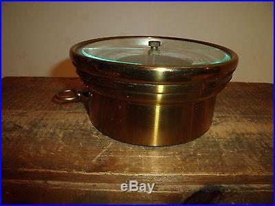 Antique Short & Mason Tycos Brass Aneroid Barometer Nautical Maritime London