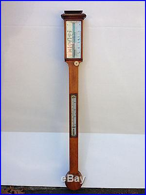 Antique Stick Barometer