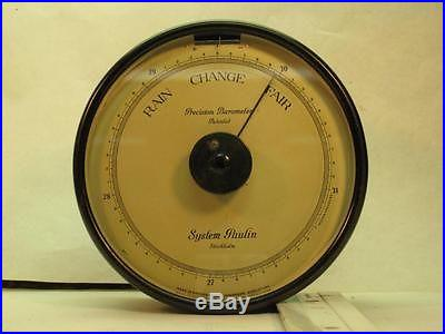 Antique System Paulin Precision Barometer. Made in Sweden