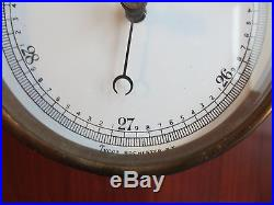 Antique Tycos Wall Barometer Rochester NY PAT. AUG 18-1914