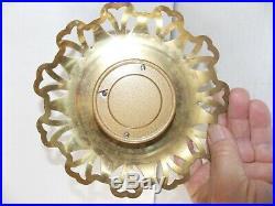 Antique W. German Brass Barometer. Very Nice