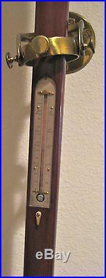 Antique Watkins & Hill Maritime Barometer (c1840s)