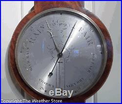Antique Wheel Barometer by Pensa, London circa 1830