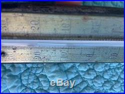 Antique Working Brass Bronze Reamur Thermometer 1900 Wood Octogesinal French