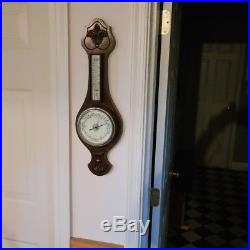 Antique barometer, thermometer, from England, Reeling