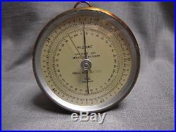 Antique brass Barometer Friez Baltimore