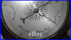 Antique c. 1848 19th Century Rimondi 38 Barometer Hygrometer Halifax England UK