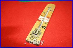 Antique/vintage wooden thermometer