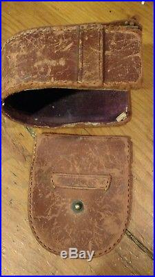 Antq Compensated Pocket Barometer Altimeter bonschur & Holmes phila Tycos