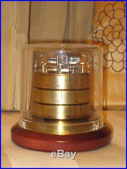 BARIGO German Weather Station Barometer-Thermometer-Hydrometer Vintage Rare Mint