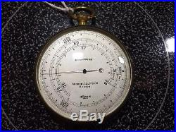 Barometer Altimeter Andrew J. Lloyd Co Boston Compensated c. 1910