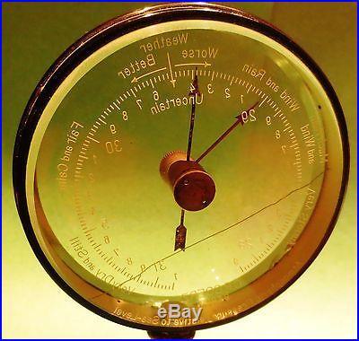 Barometer Goerz of Berlin Mystery Dial Early 1900s