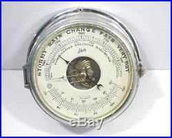 Barometer vintage weather thermometer Made In Germany
