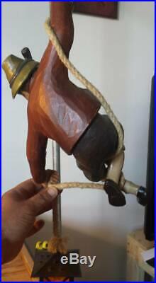 Black Forrest Lamp Carving