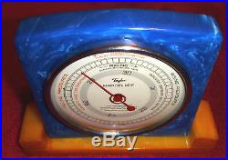Blue Taylor Catalin Barometer