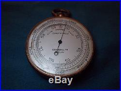 Chancellor, Dublin Compensated Pocket Barometer