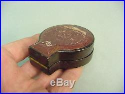 Circa 1870 Moritz Pillischer Pocket Barometer Altimiter with Crown Adjust in Case