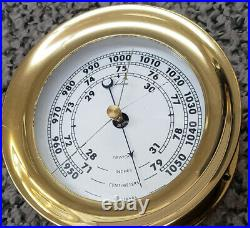 Collectible Chelsea Made in USA Ships Barometer, Excellent Condition
