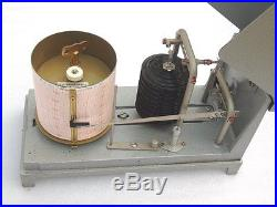 Dr. A Muller R. Fuess Berlin Steglitz Germany Ships Weather Forecast Barograph