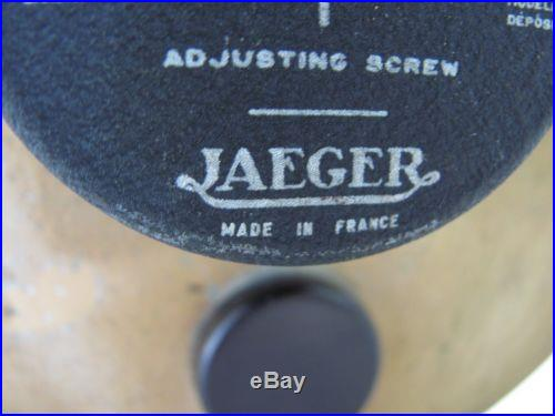EARLY VINTAGE JAEGER FRANCE BAROMETER THERMOMETER