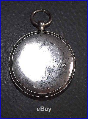 Earlier Lufft Pocket Aneroid Barometer Fine Condition