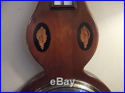 English Mahogany Banjo barometer, Circa 1930's