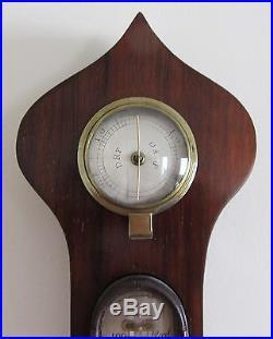English Wheel Barometer by J. Westley, High St, Soham, Cambs, UK Ca 1850