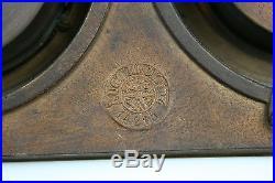 Exclusive masonic marked Barometer / calendar / clock cherubs putti 19th c rare